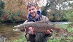 Salmon Fishing in Cornwall – My first experience, and it's a good one!