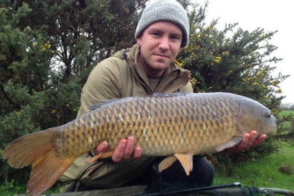 Winter carp fishing lesson
