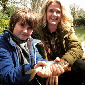 Arthur and Mum go Fishing!