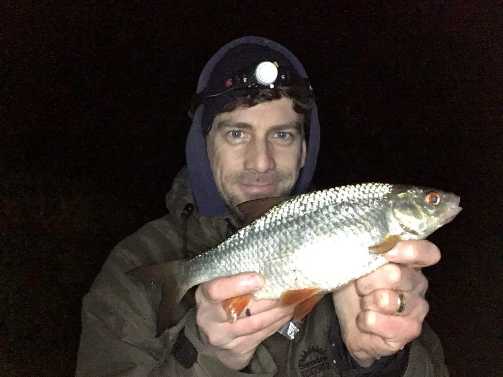 Roach fishing in Cornwall