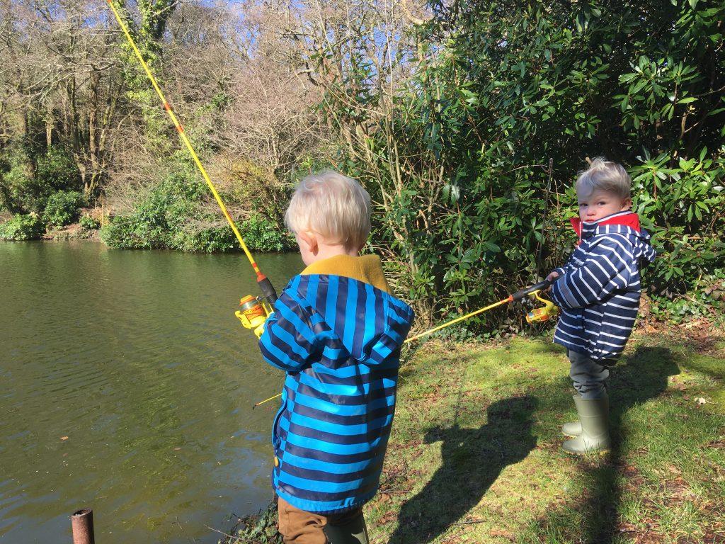 Family fishing fun in Cornwall