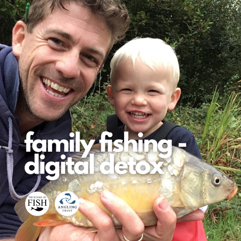 Family Fishing - Digital Detox